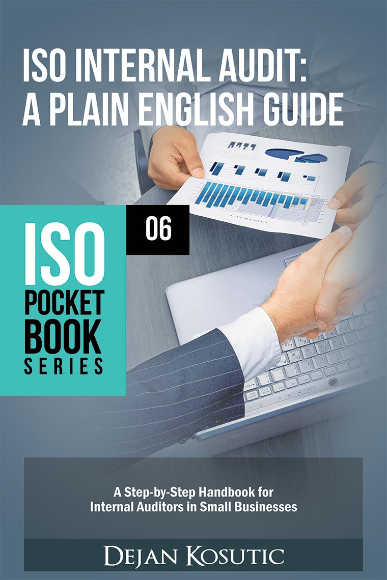 New book: ISO Internal Audit - A Plain English Guide