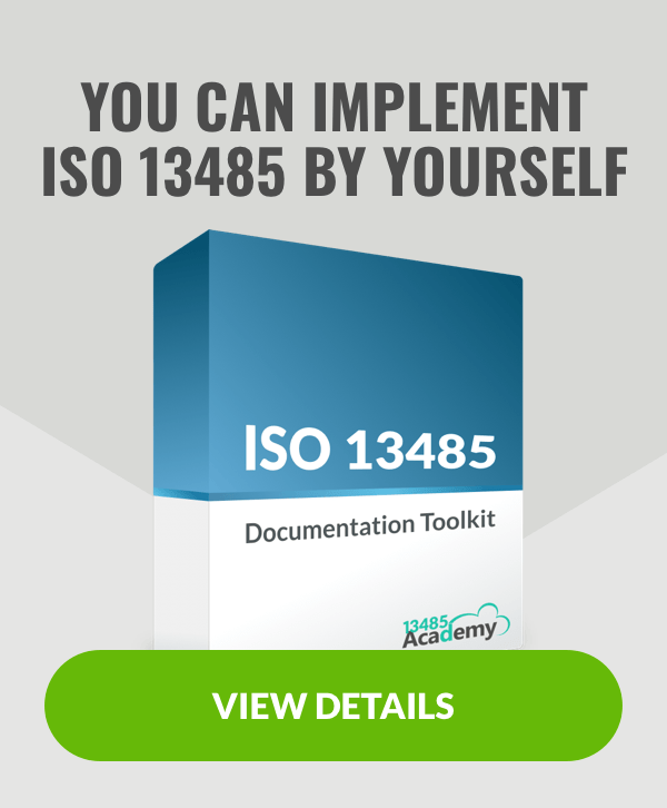 Implement ISO 13485 by yourself