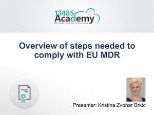 10 steps to achieve MDR compliance [free webinar]