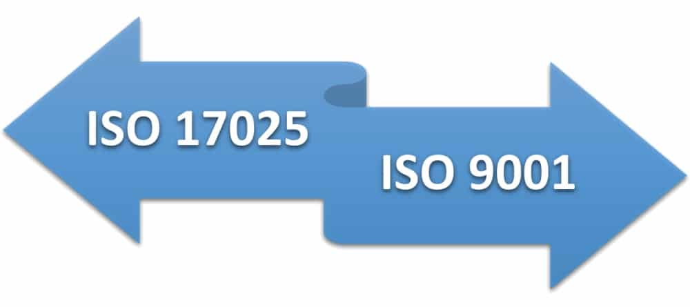 ISO 17025 vs. ISO 9001 – Main differences and similarities