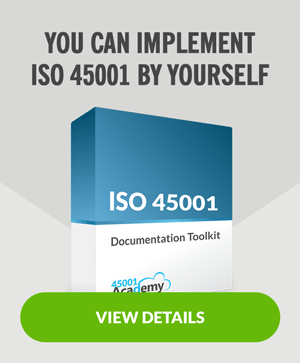 Implement ISO 45001 by yourself