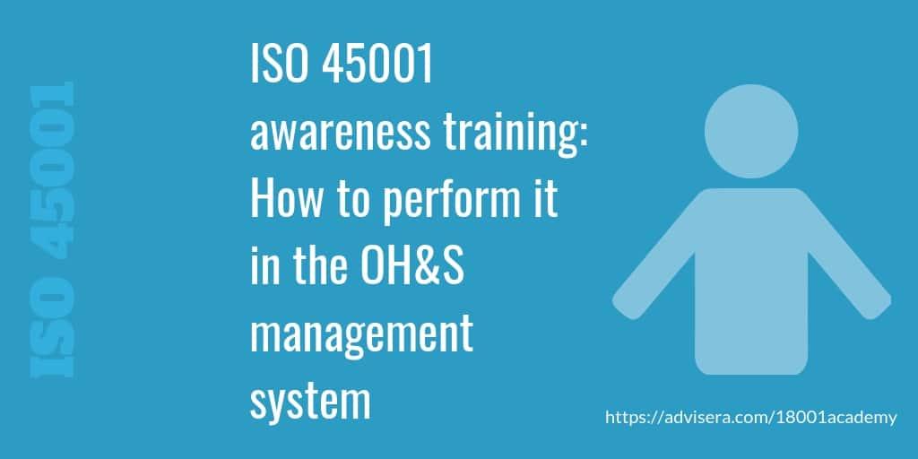 iso 45001 training courses australia