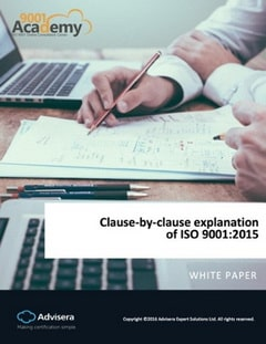 Clause-by-clause explanation of ISO 9001:2015