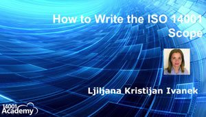 How to Write the ISO 14001 Scope