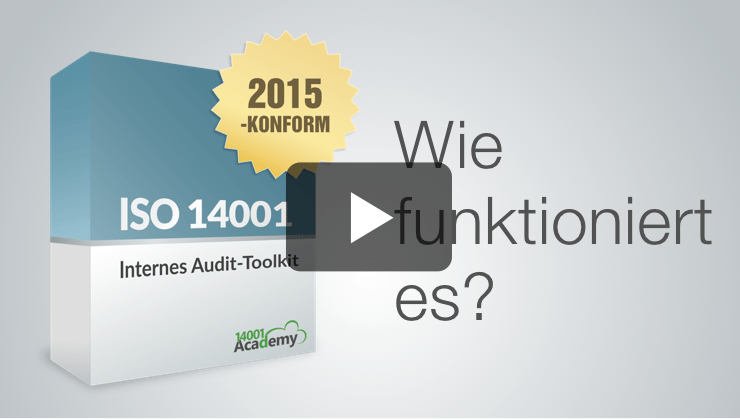 ISO 14001:2015 Internes Audit-Toolkit