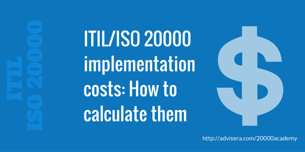 Itiliso 20000 Implementation Costs How To Calculate Them