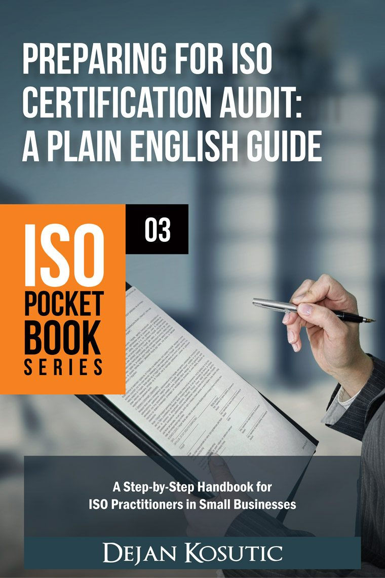 Preparing for ISO Certification Audit: A Plain English Guide - AdviseraBooks