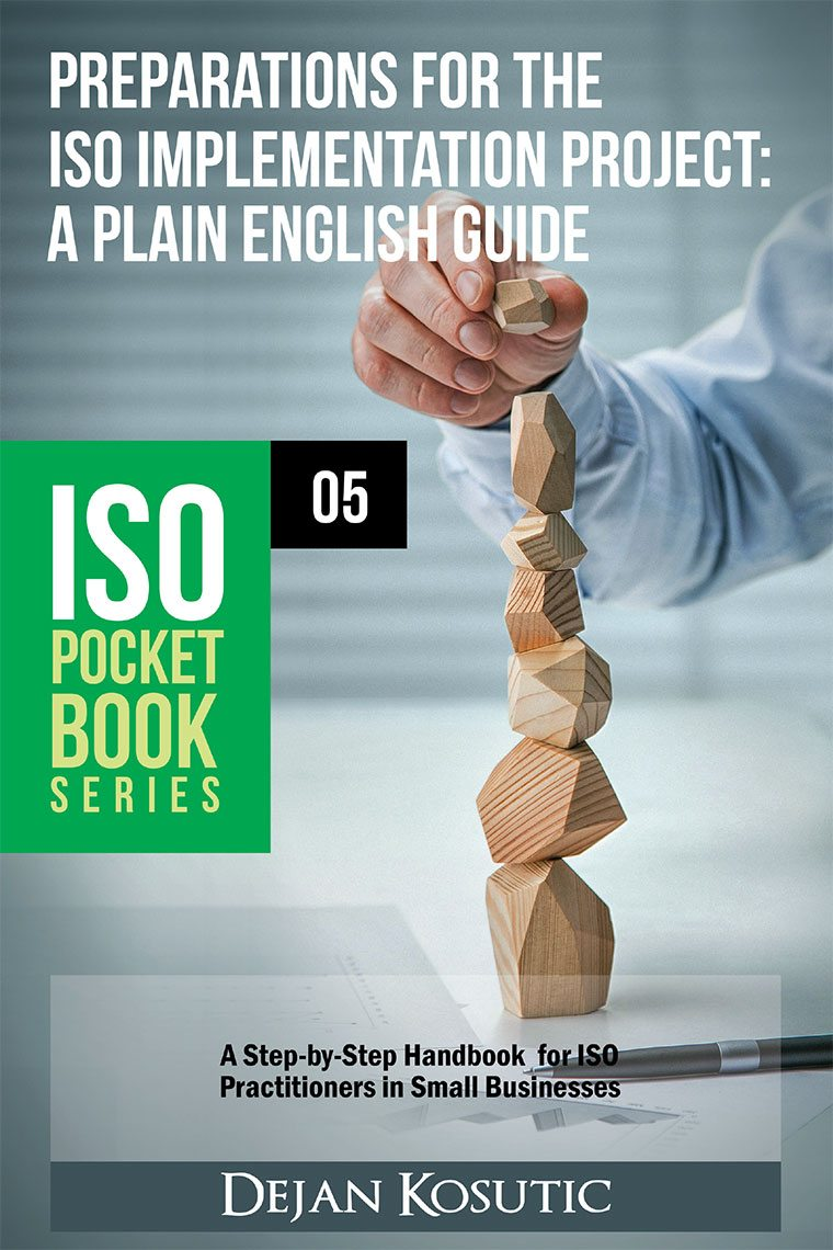 Preparations for the ISO Implementation Project: A Plain English Guide - AdviseraBooks
