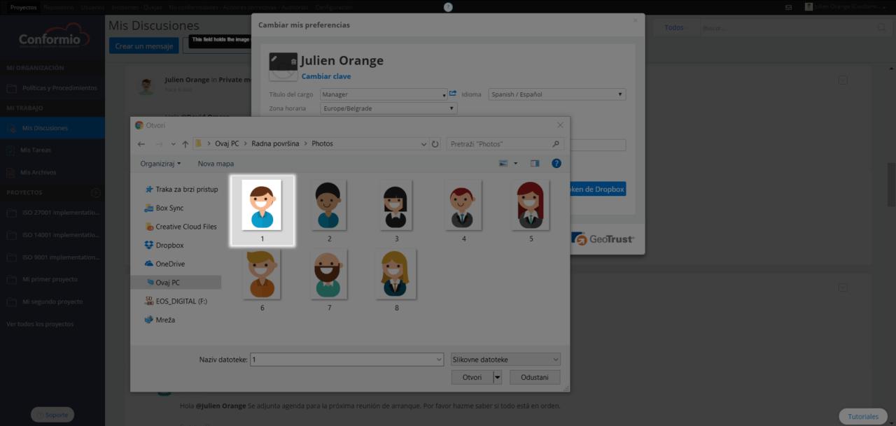 Añadir foto al perfil de usuario - Centro de soporte
